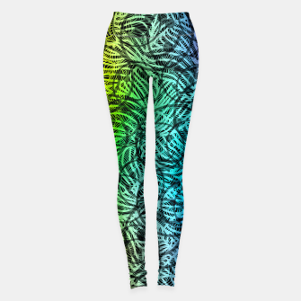 Thumbnail image of smile3 Leggings, Live Heroes