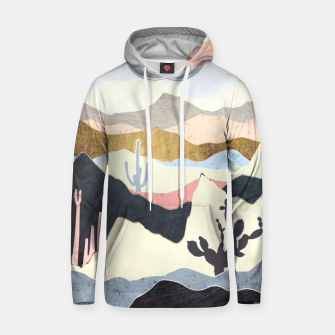 Thumbnail image of Desert Summer Cotton hoodie, Live Heroes