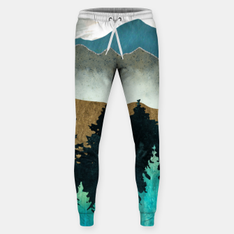 Thumbnail image of Forest Mist Cotton sweatpants, Live Heroes