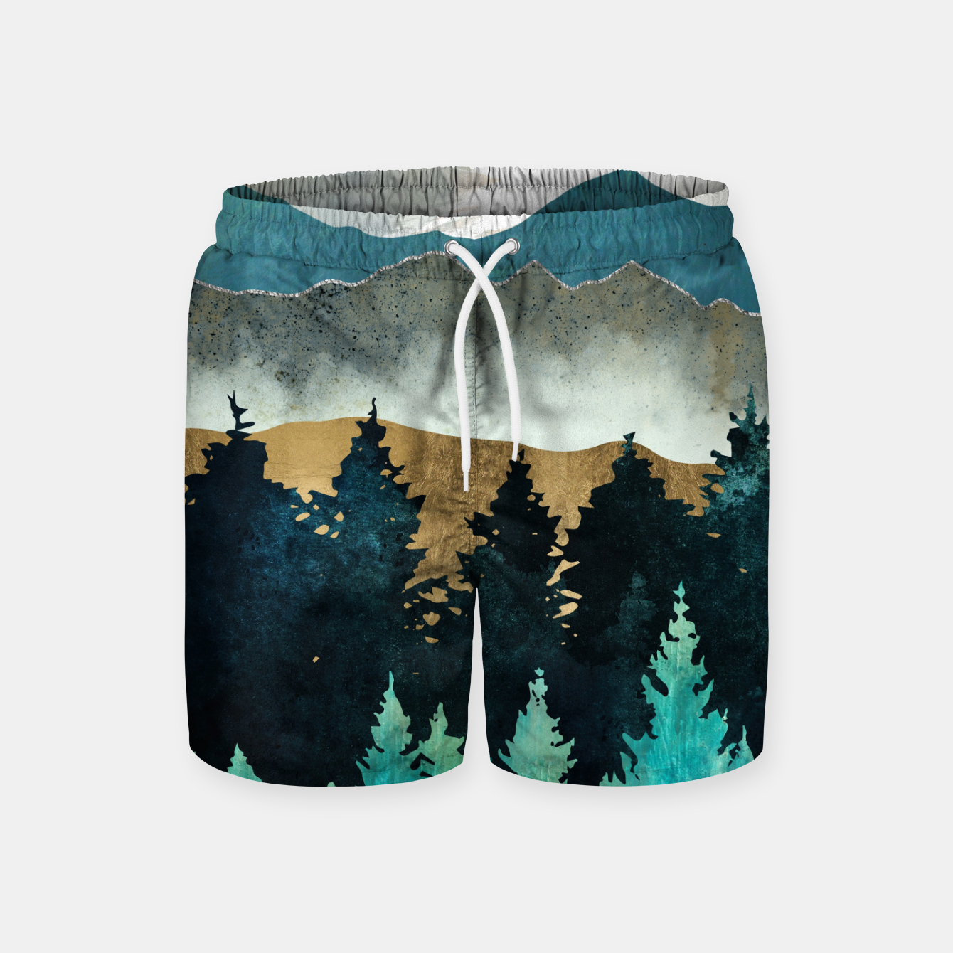 Image of Forest Mist Swim Shorts - Live Heroes