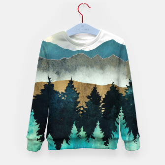 Thumbnail image of Forest Mist Kid's sweater, Live Heroes