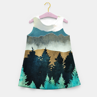 Thumbnail image of Forest Mist Girl's summer dress, Live Heroes