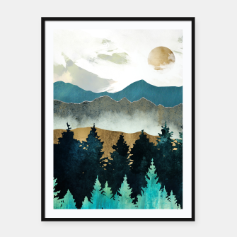 Thumbnail image of Forest Mist Framed poster, Live Heroes