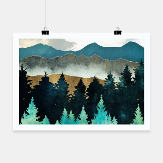 Thumbnail image of Forest Mist Poster, Live Heroes