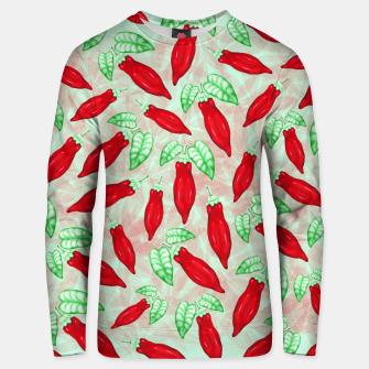 Thumbnail image of Red Hot Chilli Pepper Decorative Food Art Cotton sweater, Live Heroes