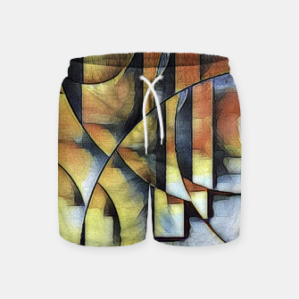 Thumbnail image of Underwater Abstract Swim Shorts, Live Heroes