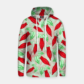Thumbnail image of Red Hot Chilli Pepper Decorative Food Art Cotton hoodie, Live Heroes