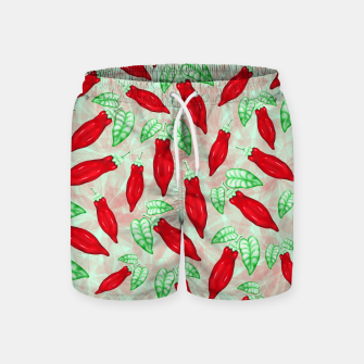Thumbnail image of Red Hot Chilli Pepper Decorative Food Art Swim Shorts, Live Heroes