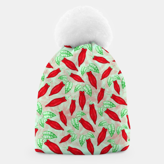 Thumbnail image of Red Hot Chilli Pepper Decorative Food Art Beanie, Live Heroes