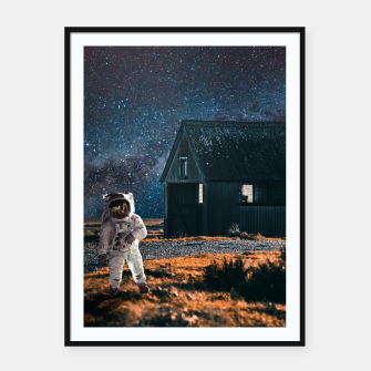 Miniatur Going to Adventure Framed poster, Live Heroes