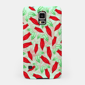 Thumbnail image of Red Hot Chilli Pepper Decorative Food Art Samsung Case, Live Heroes