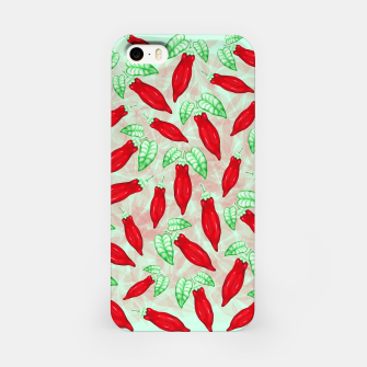 Thumbnail image of Red Hot Chilli Pepper Decorative Food Art iPhone Case, Live Heroes