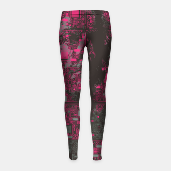 Thumbnail image of Ghost In The Machine Girl's leggings, Live Heroes