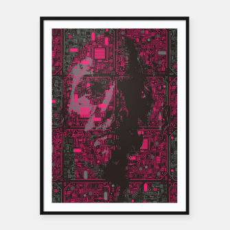 Thumbnail image of Ghost In The Machine Framed poster, Live Heroes