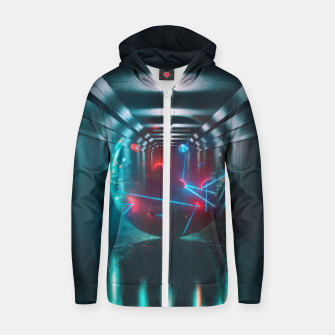 Miniatur mysterious Ball Cotton zip up hoodie, Live Heroes