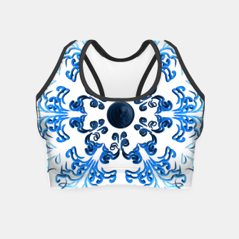 Thumbnail image of Puka ʻeleʻele Crop Top, Live Heroes