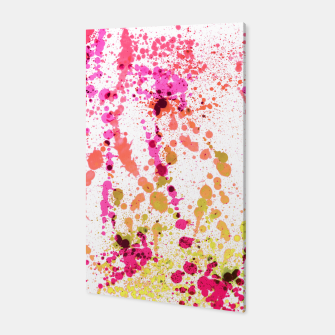 Thumbnail image of Uplifting Heat - Abstract Splatter Art Canvas, Live Heroes