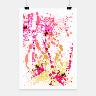 Thumbnail image of Uplifting Heat - Abstract Splatter Art Poster, Live Heroes