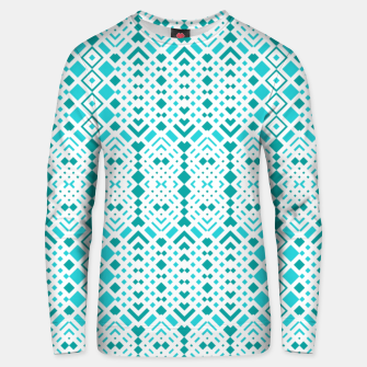 Thumbnail image of Geometric Webbing Cotton sweater, Live Heroes