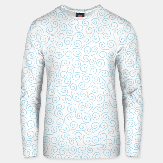 Thumbnail image of Swirls and Curls Cotton sweater, Live Heroes