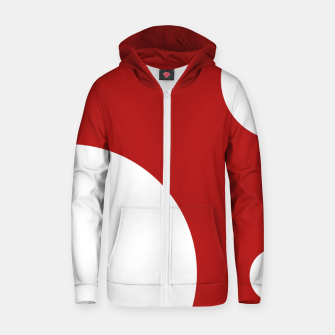 Thumbnail image of Arbitrary Orbit I Cotton zip up hoodie, Live Heroes