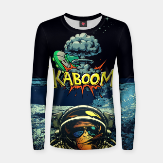 KABOOM Woman cotton sweater obraz miniatury