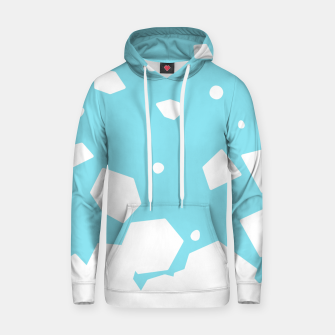Thumbnail image of Rockery on Blue Cotton hoodie, Live Heroes
