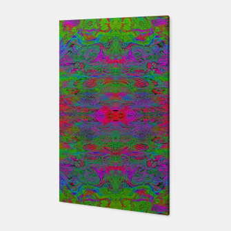 Thumbnail image of Hidden Clown's Playroom (abstract, psychedelic, trippy, fluorescent) Canvas, Live Heroes