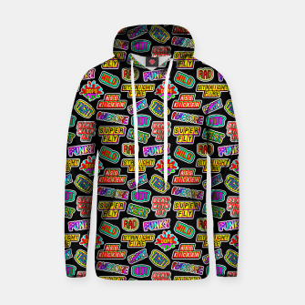 Thumbnail image of Funky pattern #06 Cotton hoodie, Live Heroes