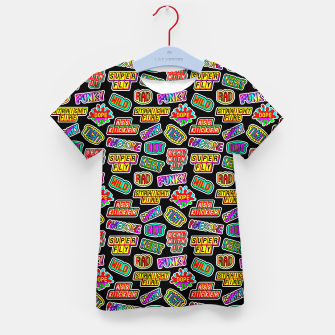 Thumbnail image of Funky pattern #06 Kid's t-shirt, Live Heroes
