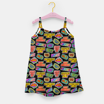 Thumbnail image of Funky pattern #06 Girl's dress, Live Heroes