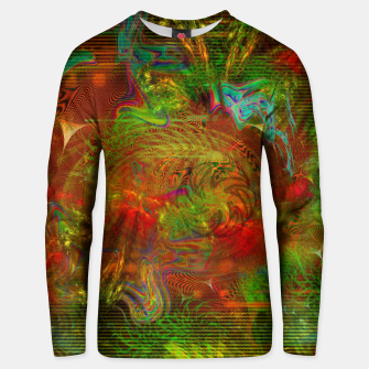 Miniature de image de Swirling Stew (abstract, psychedelic, visionary) Cotton sweater, Live Heroes