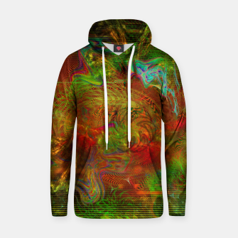 Miniature de image de Swirling Stew (abstract, psychedelic, visionary) Cotton hoodie, Live Heroes