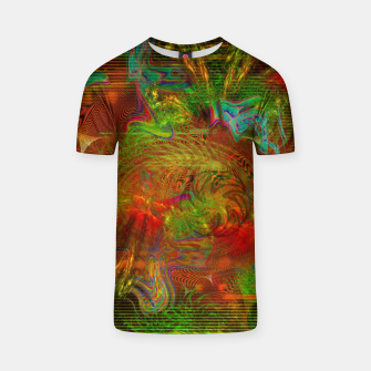 Miniature de image de Swirling Stew (abstract, psychedelic, visionary) T-shirt, Live Heroes