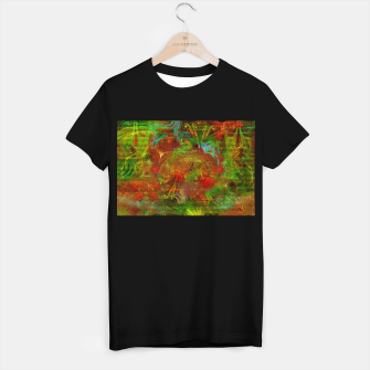 Miniature de image de Swirling Stew (abstract, psychedelic, visionary) T-shirt regular, Live Heroes