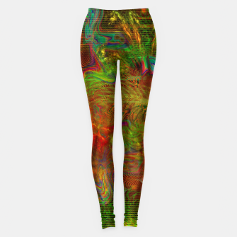 Miniature de image de Swirling Stew (abstract, psychedelic, visionary) Leggings, Live Heroes