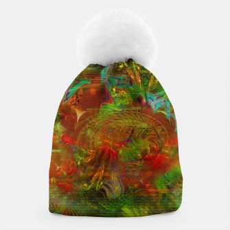 Miniature de image de Swirling Stew (abstract, psychedelic, visionary) Beanie, Live Heroes