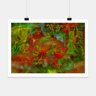 Miniature de image de Swirling Stew (abstract, psychedelic, visionary) Poster, Live Heroes