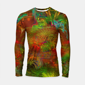 Miniature de image de Swirling Stew (abstract, psychedelic, visionary) Longsleeve rashguard , Live Heroes
