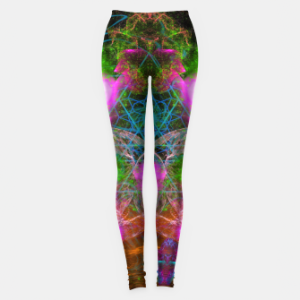 Thumbnail image of Angels From Twin Worlds (psychedelic, galaxy, visionary, abstract) Leggings, Live Heroes