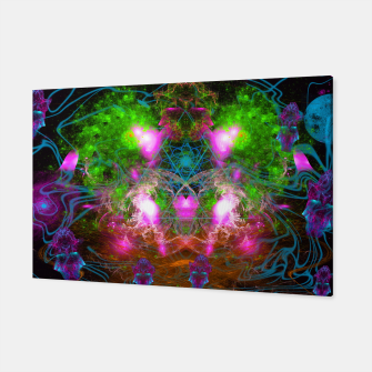 Thumbnail image of Angels From Twin Worlds (psychedelic, galaxy, visionary, abstract) Canvas, Live Heroes