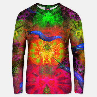 Thumbnail image of Cthulhu and His Minions (scifi, sci-fi, slugs) Cotton sweater, Live Heroes