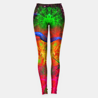 Thumbnail image of Cthulhu and His Minions (scifi, sci-fi, slugs) Leggings, Live Heroes