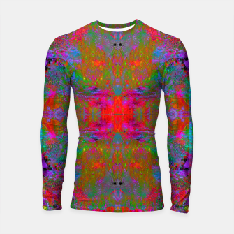 Thumbnail image of Ultraviolet Crystal Radiance (psychedelic, trippy) Longsleeve rashguard , Live Heroes