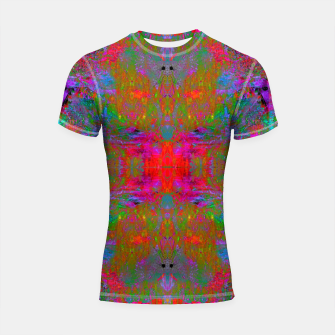 Thumbnail image of Ultraviolet Crystal Radiance (psychedelic, trippy) Shortsleeve rashguard, Live Heroes