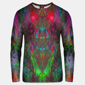 Miniatur Oracular Ether (abstract, eyes, eyeballs) Cotton sweater, Live Heroes