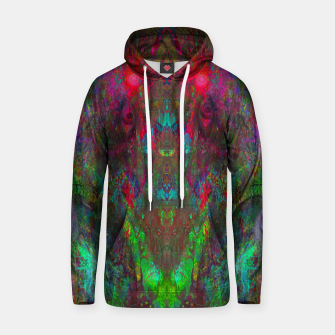 Miniatur Oracular Ether (abstract, eyes, eyeballs) Cotton hoodie, Live Heroes