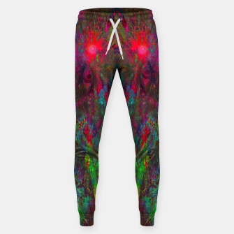 Miniatur Oracular Ether (abstract, eyes, eyeballs) Cotton sweatpants, Live Heroes