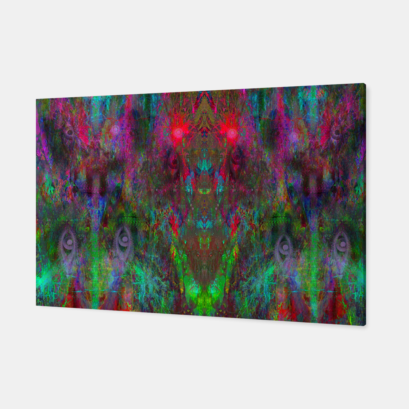 Foto Oracular Ether (abstract, eyes, eyeballs) Canvas - Live Heroes