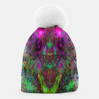 Thumbnail image of Oracular Ether (Focus) (abstract, alien, eyes) Beanie, Live Heroes